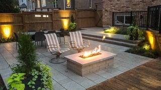 Backyard Landscape Finished