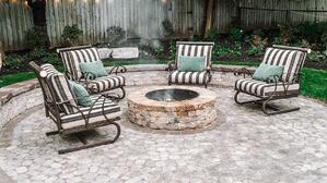 Outdoor-living-space-in-downtown-kitchener-fire pit