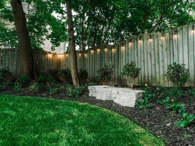 Backyard-Garden-With-Lighting-in-Kitchener-ON-400x300